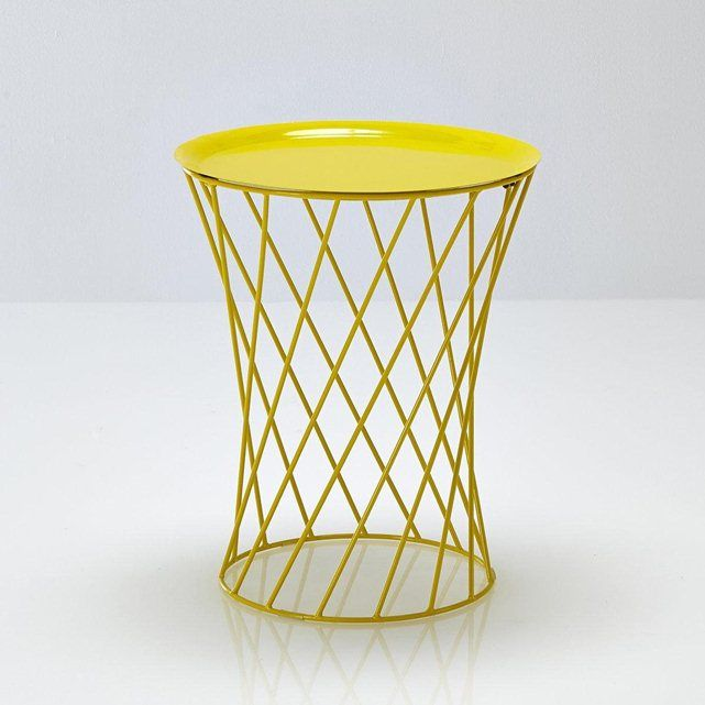 table armature filaire la redoute tiau mobilier. Black Bedroom Furniture Sets. Home Design Ideas