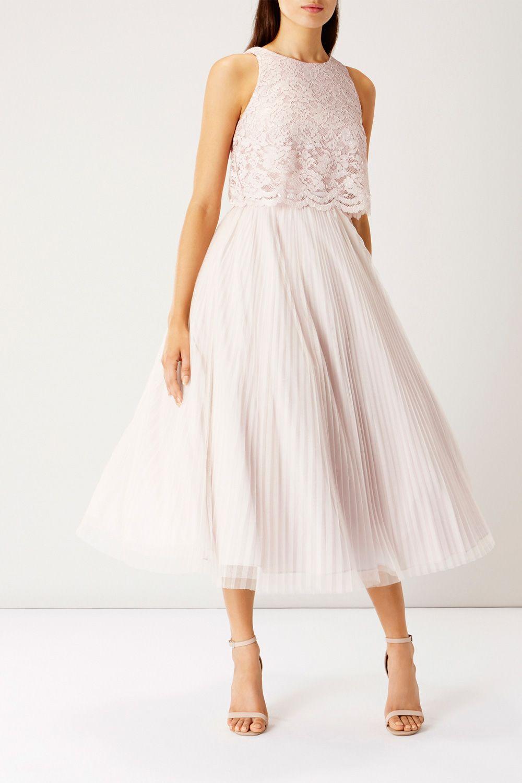 bfbd46d83 ASTORIA LACE MIDI DRESS SL | Our Wedding | Lace midi dress, Dresses ...