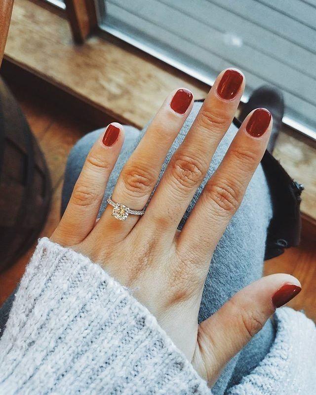 Riviera Pav Diamond Engagement Ring in 14k White Gold 16 ct tw