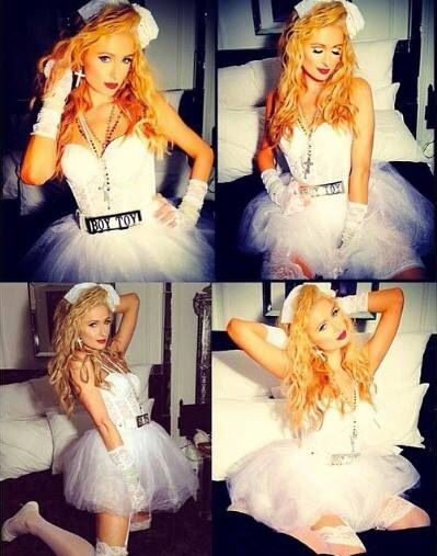 París Hilton Like a Madonna She\u0027s not me! Pinterest Madonna - madonna halloween costume ideas