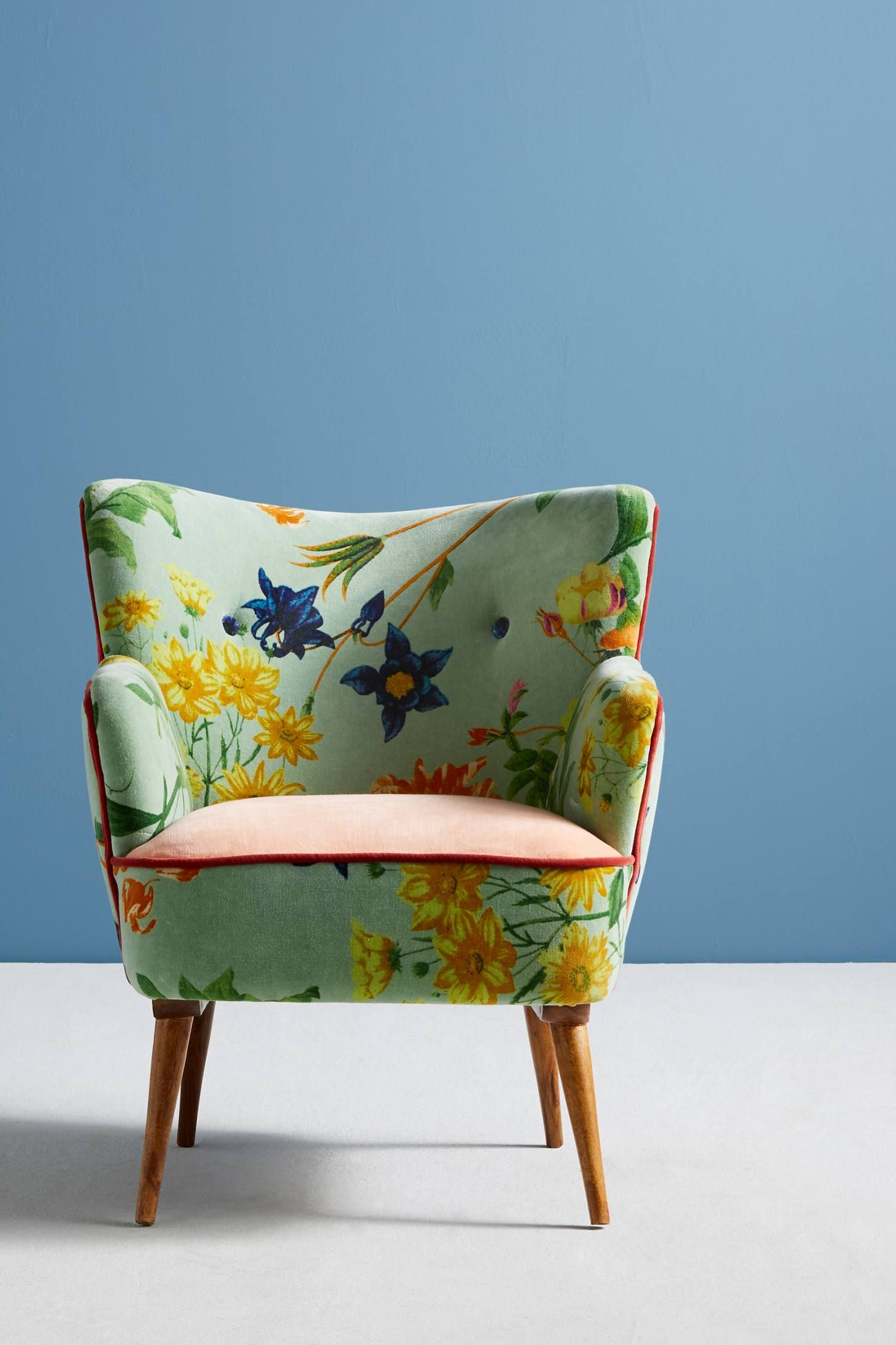 Floret Petite Accent Chair In 2019 Guest Design Board