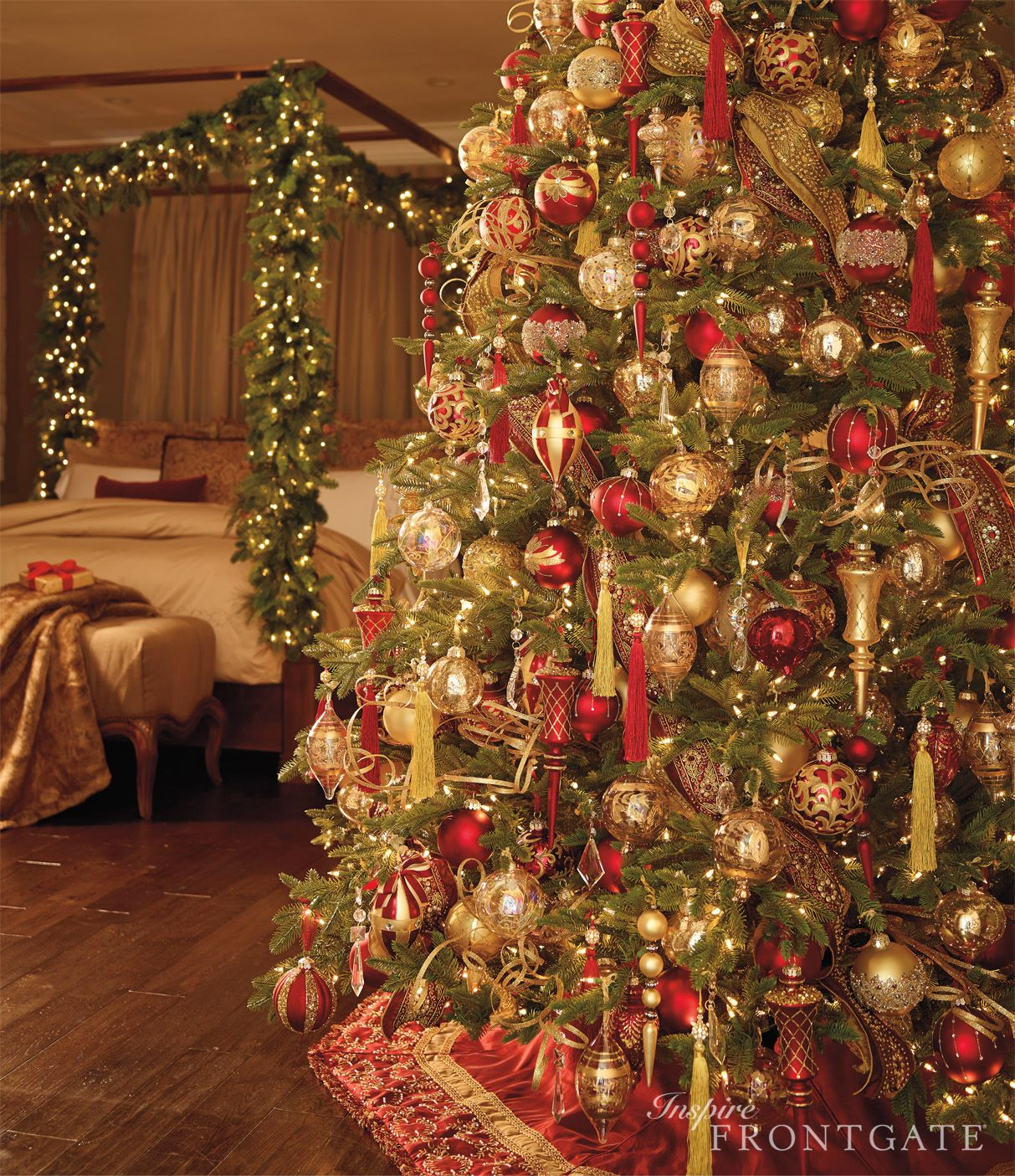 Where Did The Christmas Tree Tradition Originate: Who Doesn't Want Christmas In Their Bedroom? I Mean, Come
