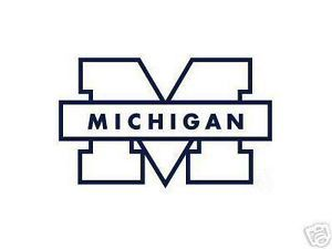 michigan wolverines car window sticker decal university cars on michigan state football coloring pages