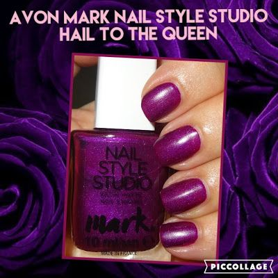Wendy\'s Delights: Avon Mark Nail Style Studio Satin Matte Nail ...