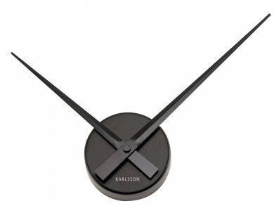 Karlsson Wall Clock Aluminium Black 41 Cm Small Wall Clock Black Wall Clock Large Black Wall Clock