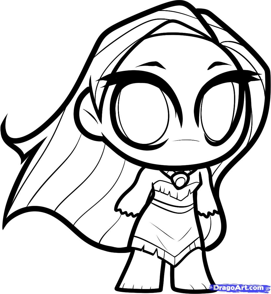 Cartoon pocahontas how to draw chibi pocahontas step 8 for Coloring pages to draw