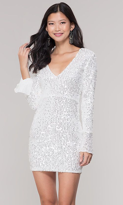 Adrianna Papell Champagne Gold Sequin MOB Dress   Mob