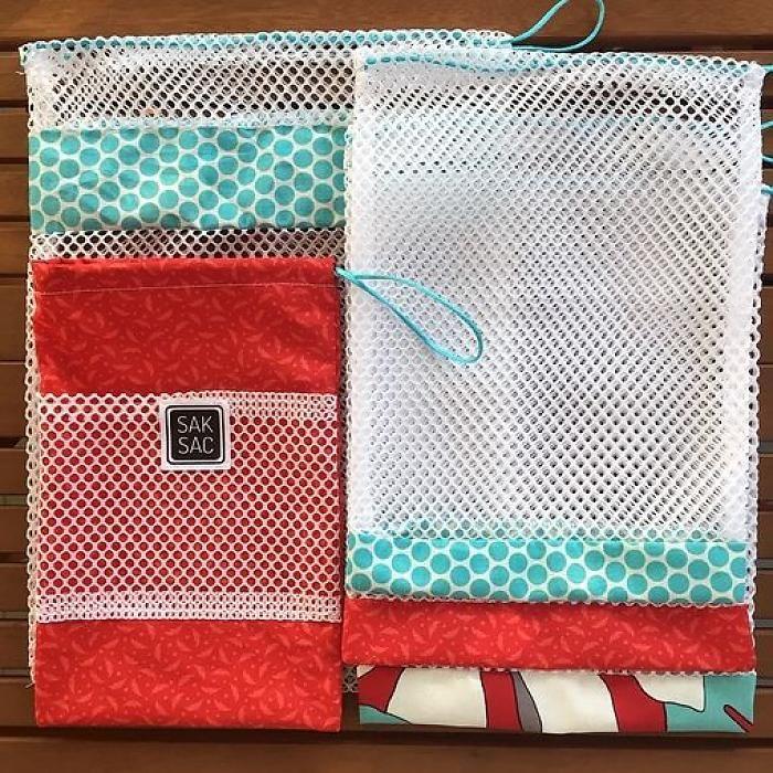 Id escadeaux sacs pour les fruits et les l gumes r utilisables de saksac couture pour la - Couture pour la maison ...