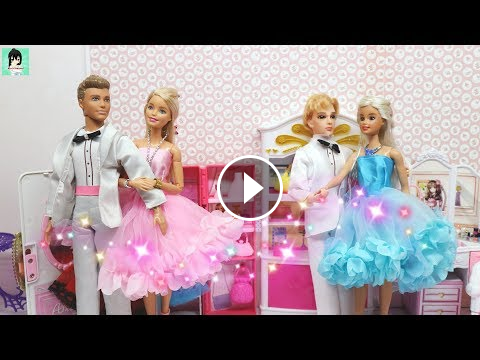 Stupendous Two Barbie Sisters Morning Routine In The Pink Bedroom And Download Free Architecture Designs Rallybritishbridgeorg
