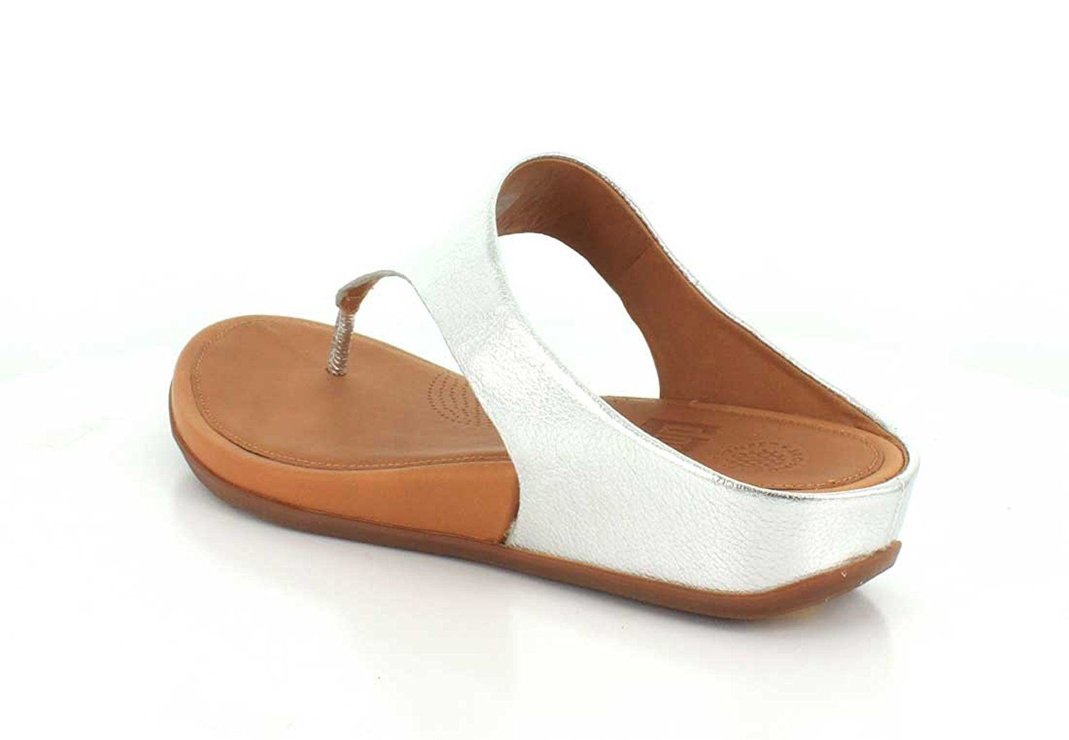 59447c7c FitFlop Womens Banda Leather Toe-Thong Thong Sandal -- Be sure to check out  this awesome product. (This is an affiliate link) #sandalsoftheday
