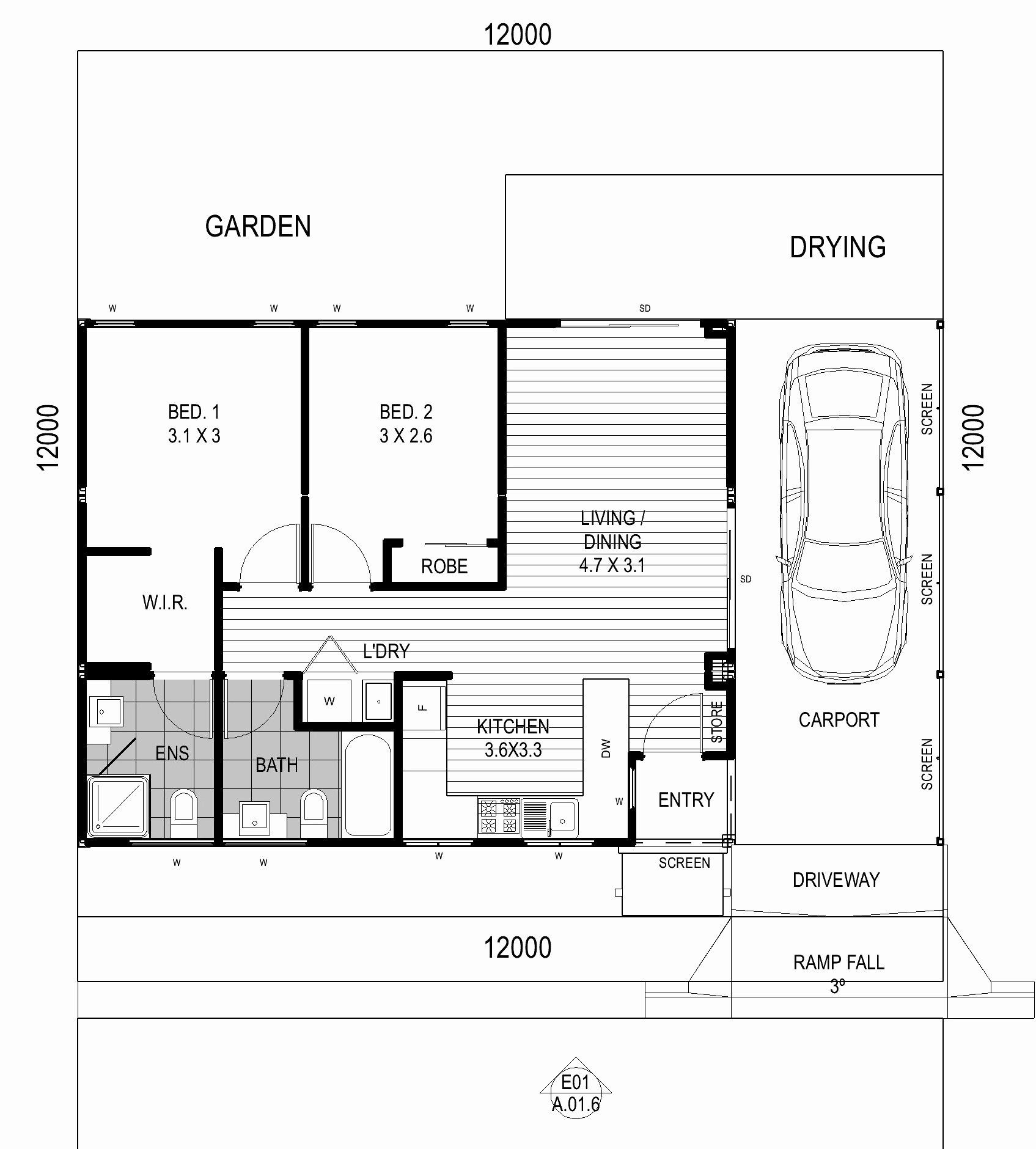 2 Bedroom Retirement House Plans New Image For 2 Bedroom Retirement House Plans Retirement House Plans Bedroom House Plans House Plans