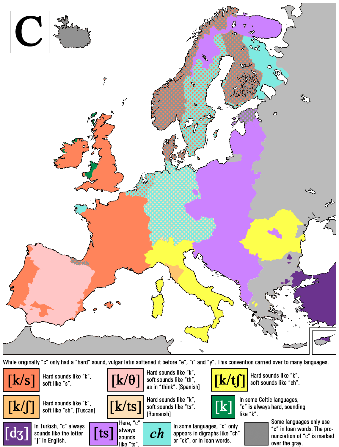 How They Pronounce The Letter C All Over Europe Happyrectangle
