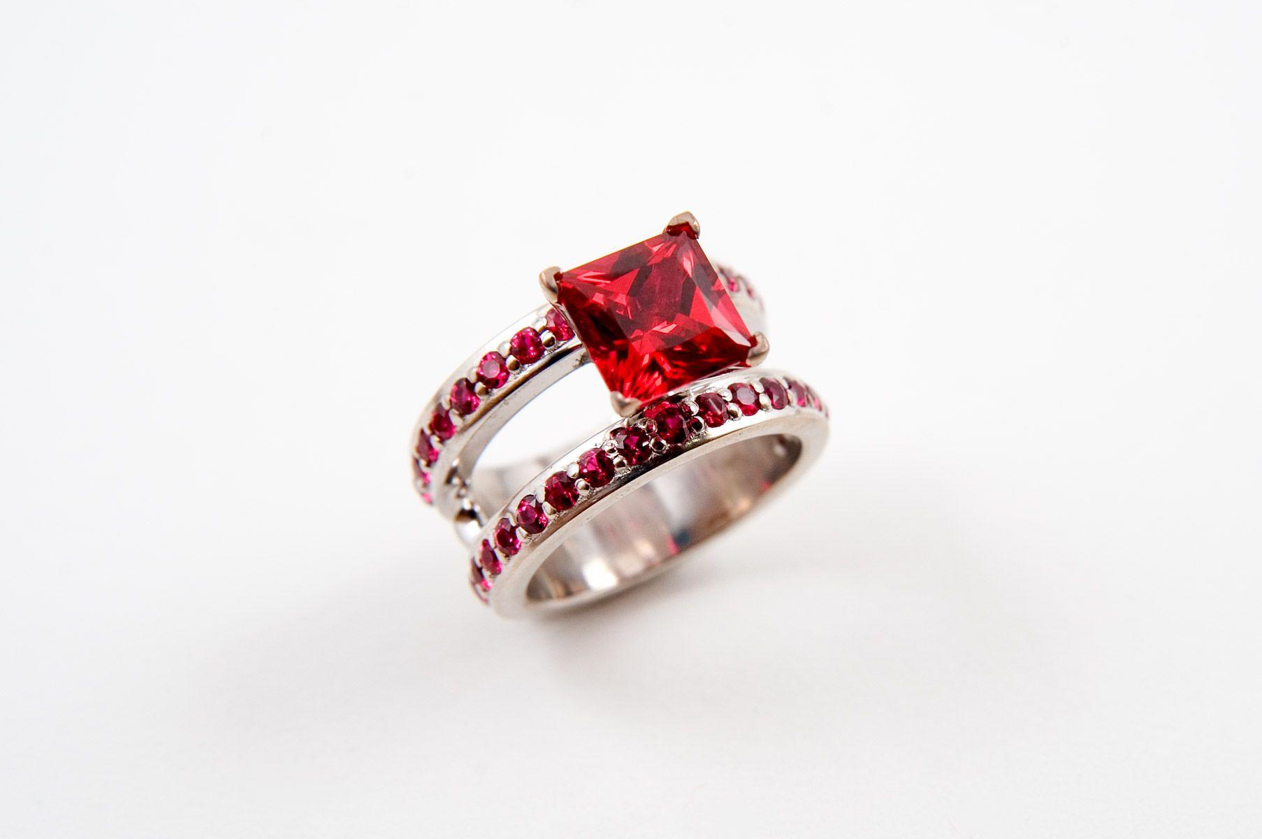 Ruby wedding rings trends rings u accessories