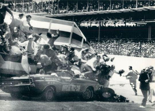 Reign Of Methanol Indy Cars Indy Car Racing Car Crash