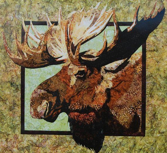 https://www.etsy.com/treasury/MTMwNzI3Mjl8MjcyMjU1NTA3Nw/clever ... : moose quilt pattern - Adamdwight.com