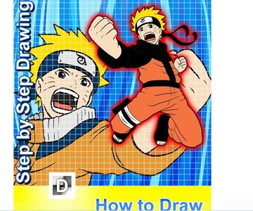 My 10 year old granddaughter downloaded this Naruto drawing