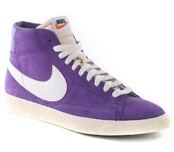 Congelar Entretener Cría  nike blazer purple suede Shop Clothing & Shoes Online