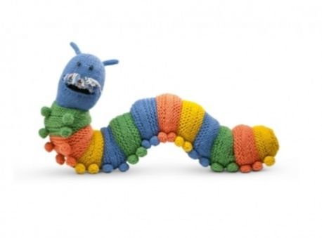 Doug The Caterpillar Draught Excluder Free Knitting Patterns