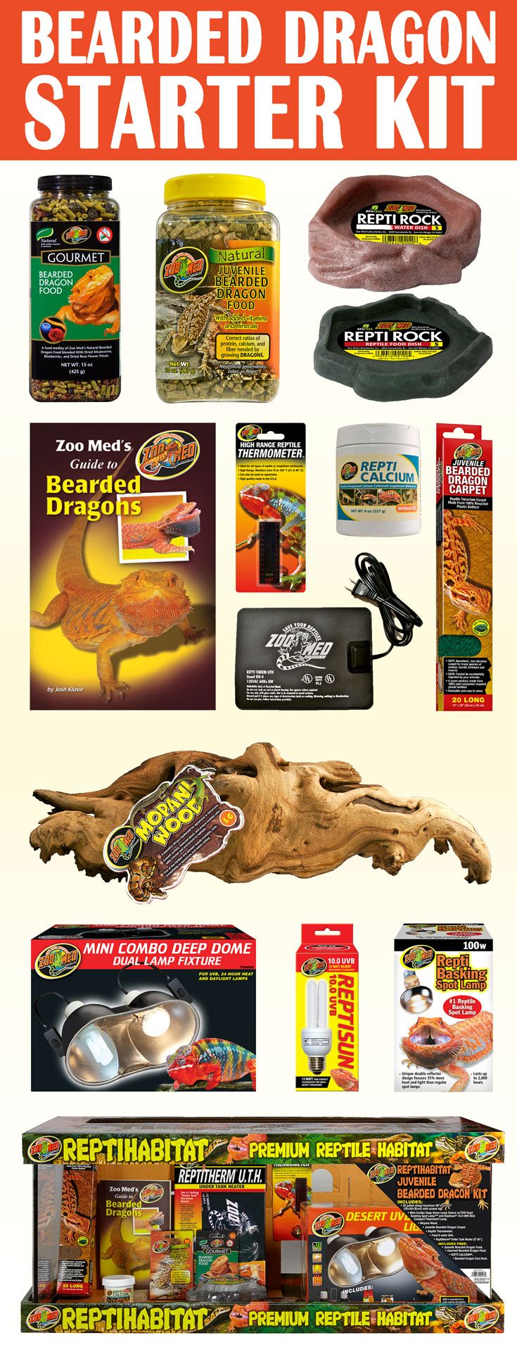 Juvenile Bearded Dragon Starter Kit Everything You Ll Need Before