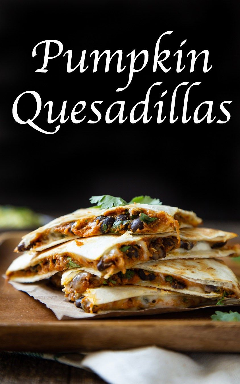 Pumpkin quesadillas images