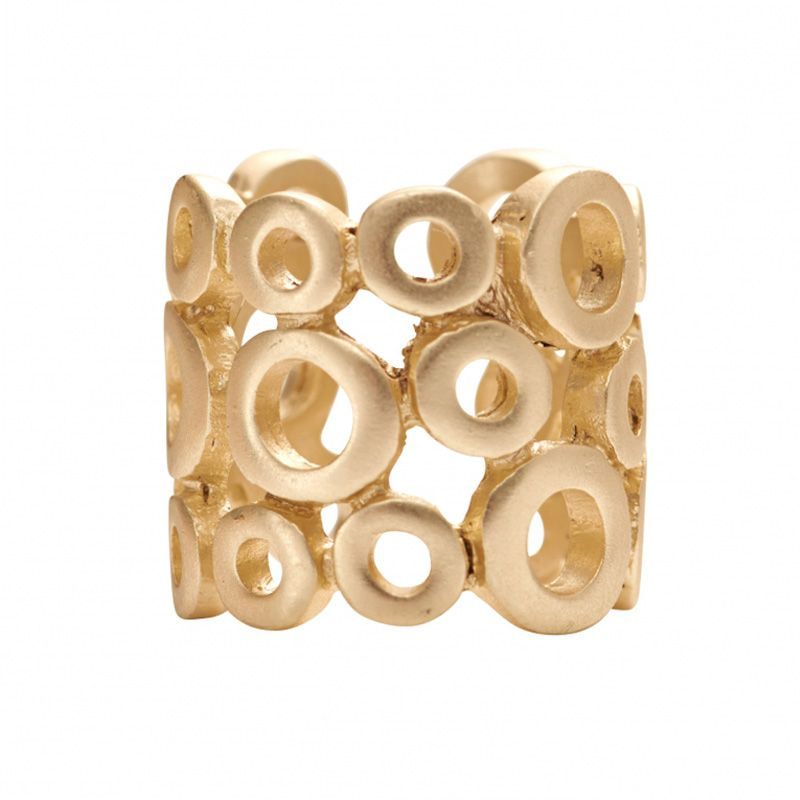 D.S. Mix & Match Ring Guldbelægning i One Size Bobble design