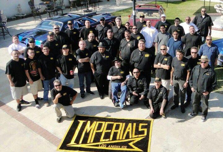 Imperial Car Club  Los Angeles  Lowriders, Chevrolet Bel Air-2584