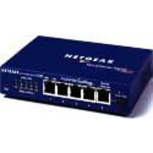 FS105NA NETGEAR ProSAFE FS105NA 5-Port Fast Ethernet Switch