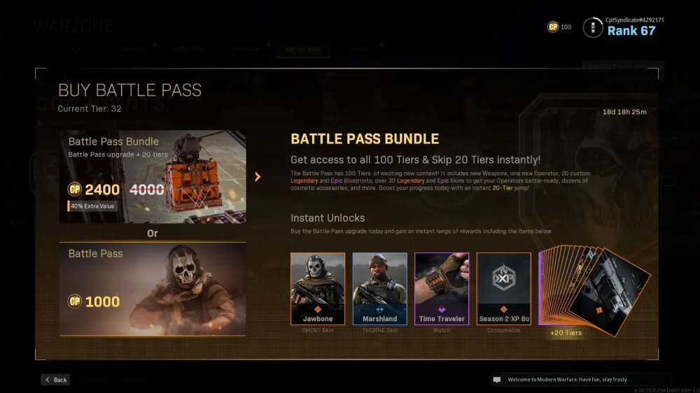 Call Of Duty Warzone Battle Pass Guide Downsights Call Of Duty Call Of Duty Warzone Battle