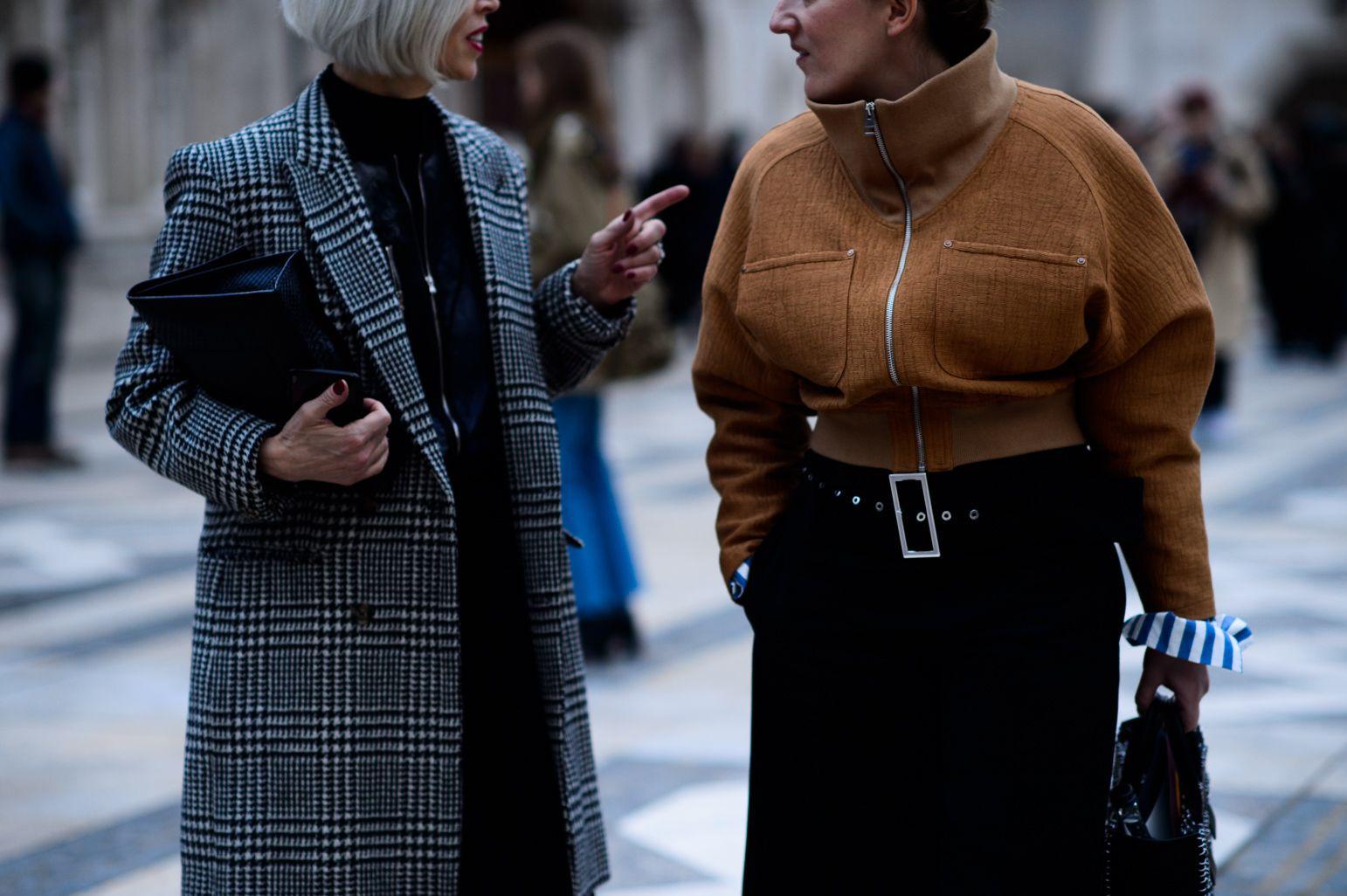 London Fashion Week Fall 2016 Street Style, Day 3 - -Wmag