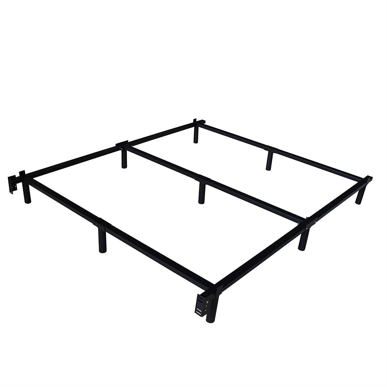 Twin XL Heavy Duty Metal Bed Frame with Headboard Brackets