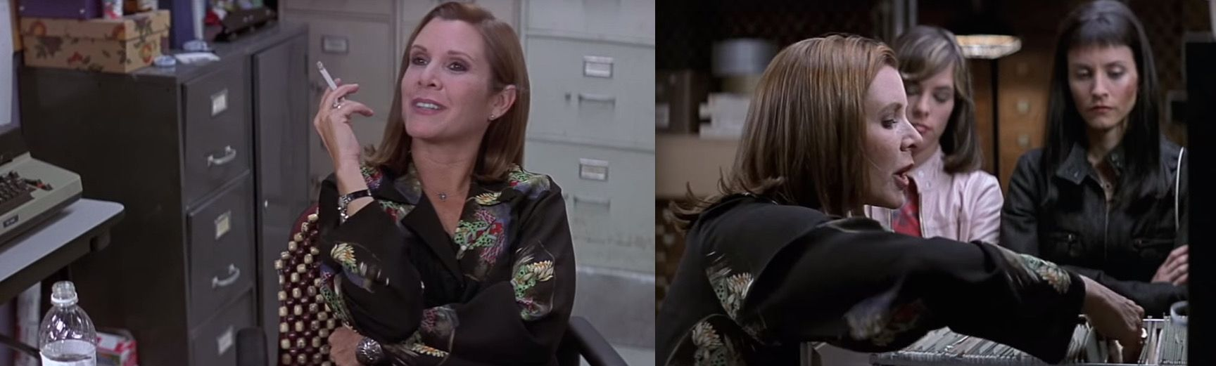 grande vente da30d 791fe Scream 3...Was funny when they asked if she Is Carrie Fisher ...