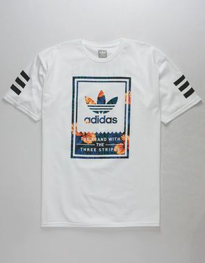 ADIDAS Classic Sweet Leaf Mens T Shirt | polos in 2019