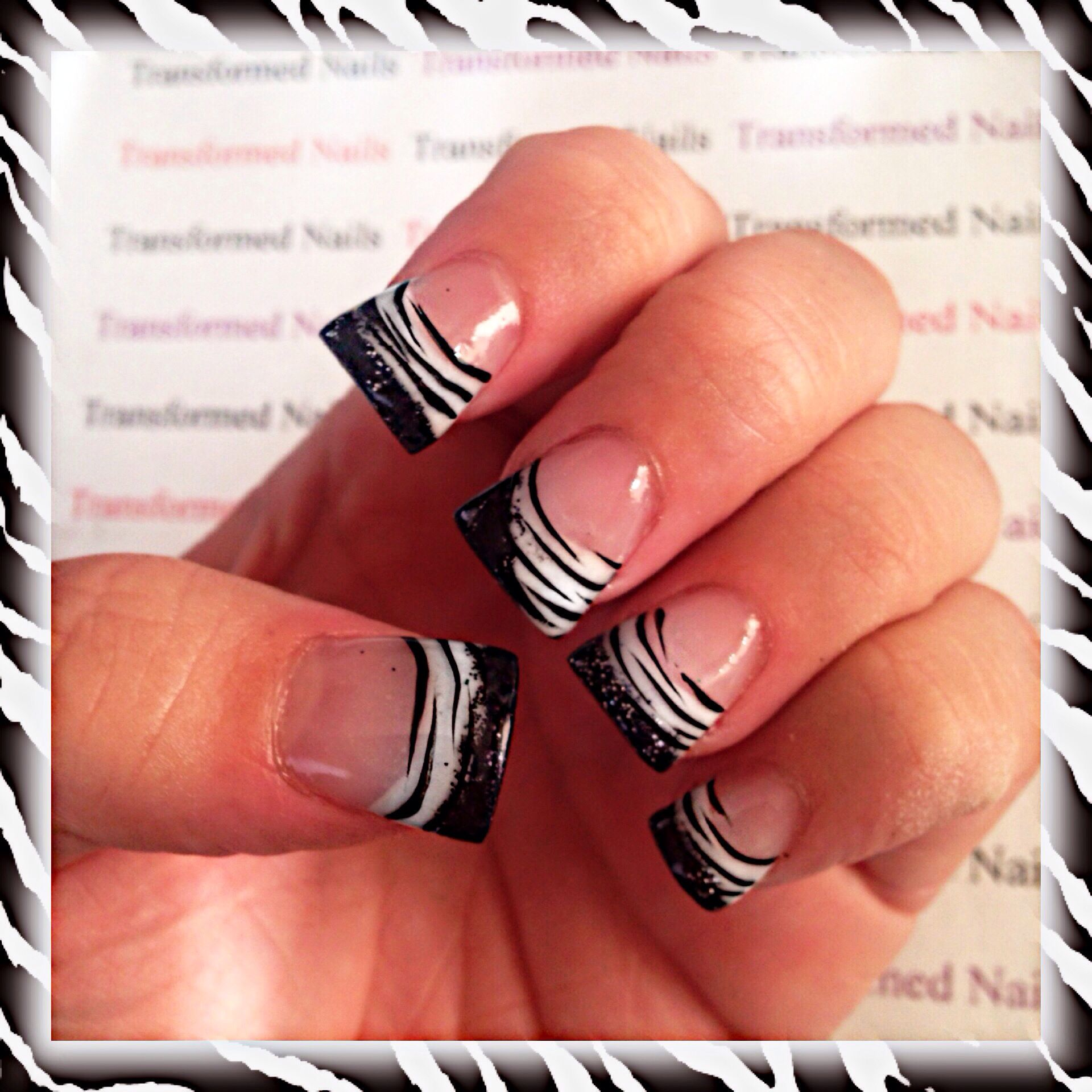 Flared acrylic nails | Decorations | Pinterest | Uñas acrilicas ...