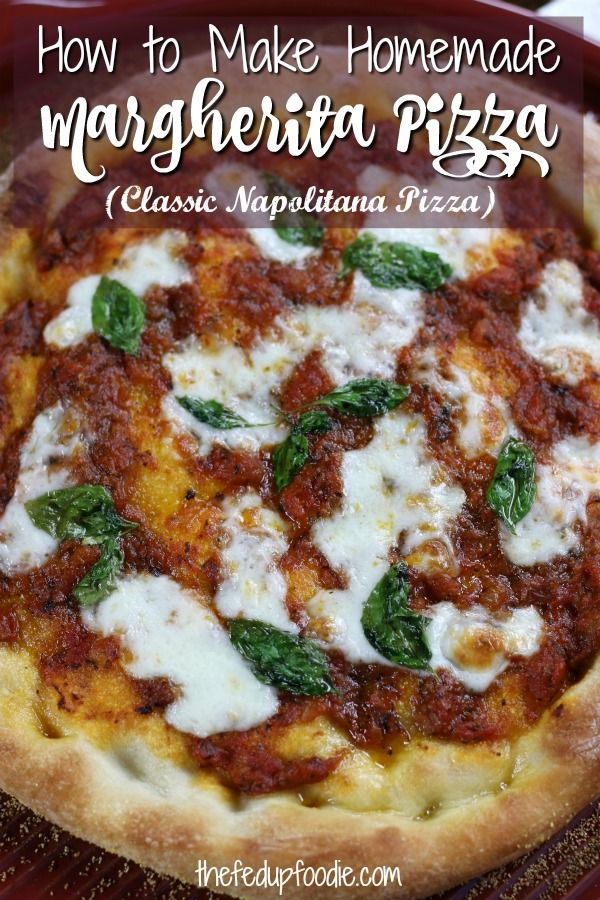 Photo of Secrets To The Best Homemade Napolitana Pizza-The Fed Up Foodie