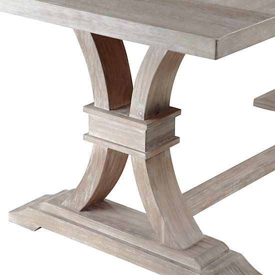 Archer Wash Oak Extending Dining Table Dining Room Table
