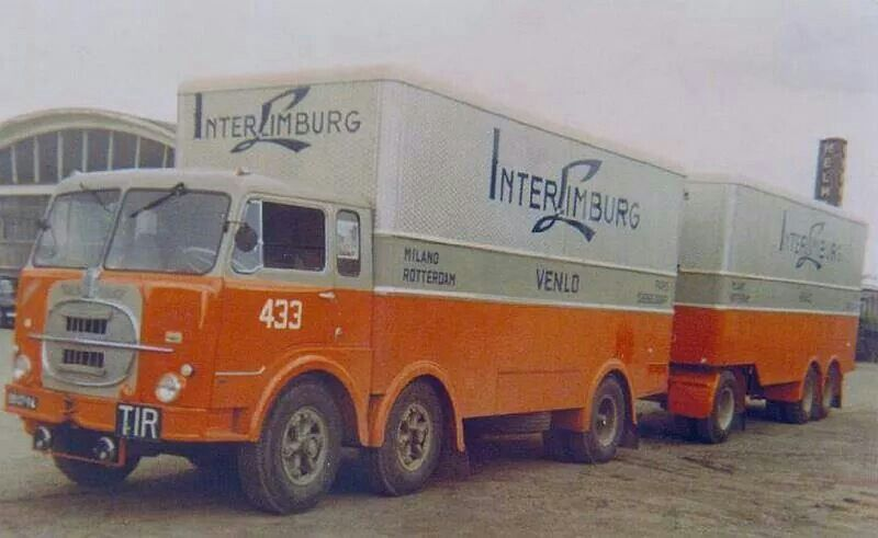 Fiat Garage Rotterdam : Fiat db 06 94 inter limburg venlo classic transport trucks