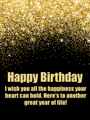 Have A Great Year Happy Birthday Wishes Card Birthday Greeting Cards By Davia Happy Birthday Wishes Cards Happy Birthday For Him Happy Birthday Messages
