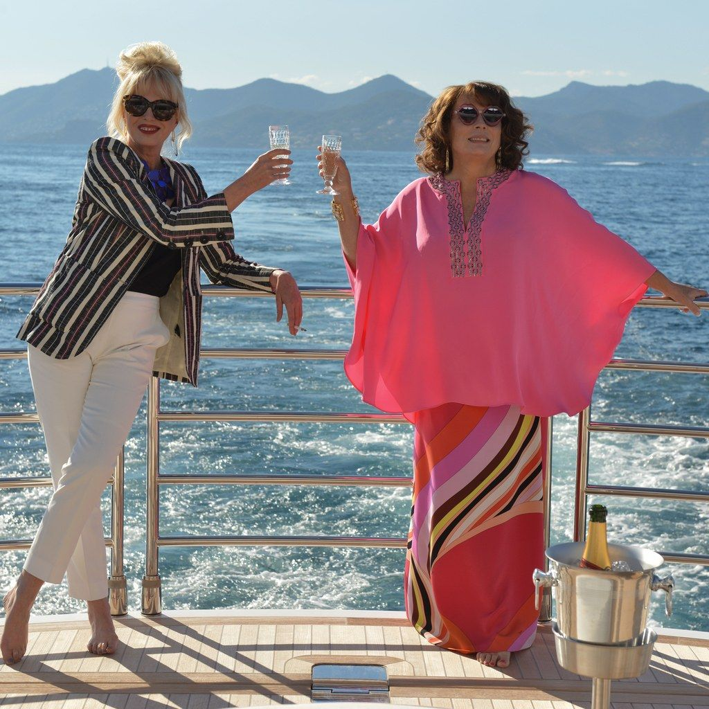 Tour The Fashionable Filming Locations Of Absolutely Fabulous The Movie Joanna Lumley Jennifer Saunders Patsy And Eddie