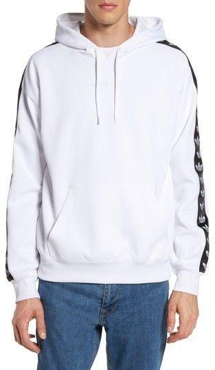 1aabb1d81618 Men s Adidas Originals Tnt Logo Tape Pullover Hoodie