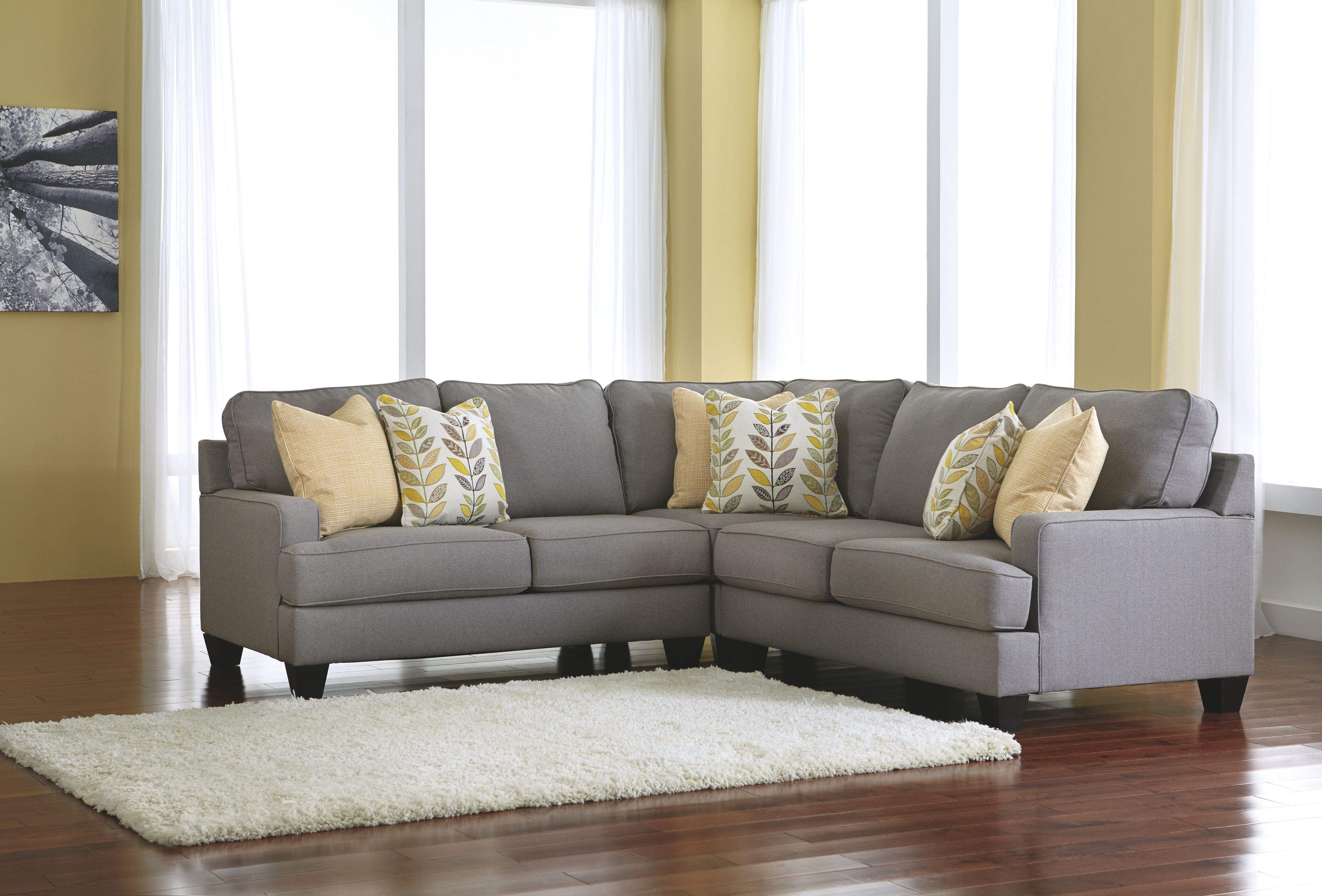 Chamberly 3 Piece Sectional Alloy In 2019 Corner Sectional Sofa