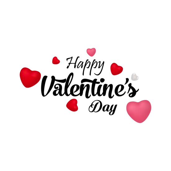 Happy Valentine S Day Png Transparent Image Instant Download Upcrafts Design In 2021 February Valentines Valentines Day Hearts Valentines