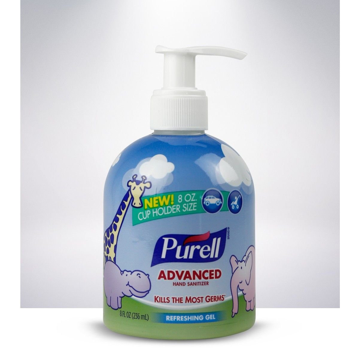 Keep Purell Advanced Hand Sanitizer For Baby With You When Out And