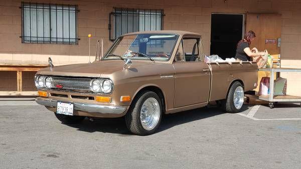 1971 Datsun Mini Truck With Rotary Engine Swap Keep Cars Weird Wednesday Mini Trucks Datsun Engine Swap