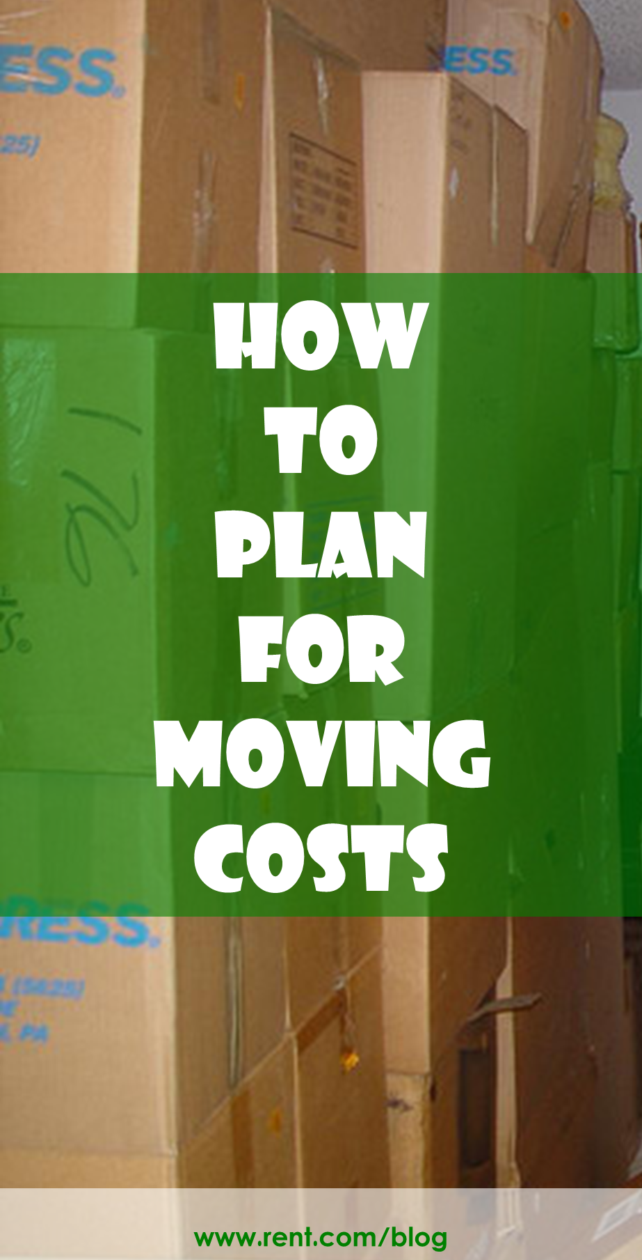 Moving Costs And How To Plan For Them Moving Costs