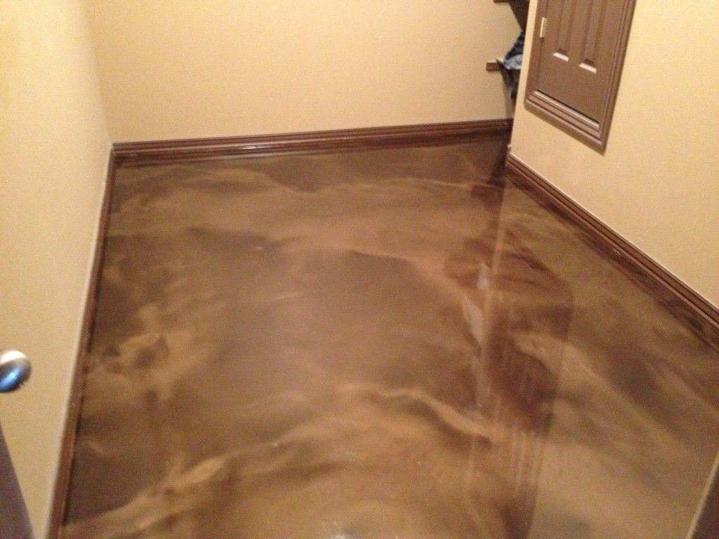 Interior Epoxy Over Concrete Floor