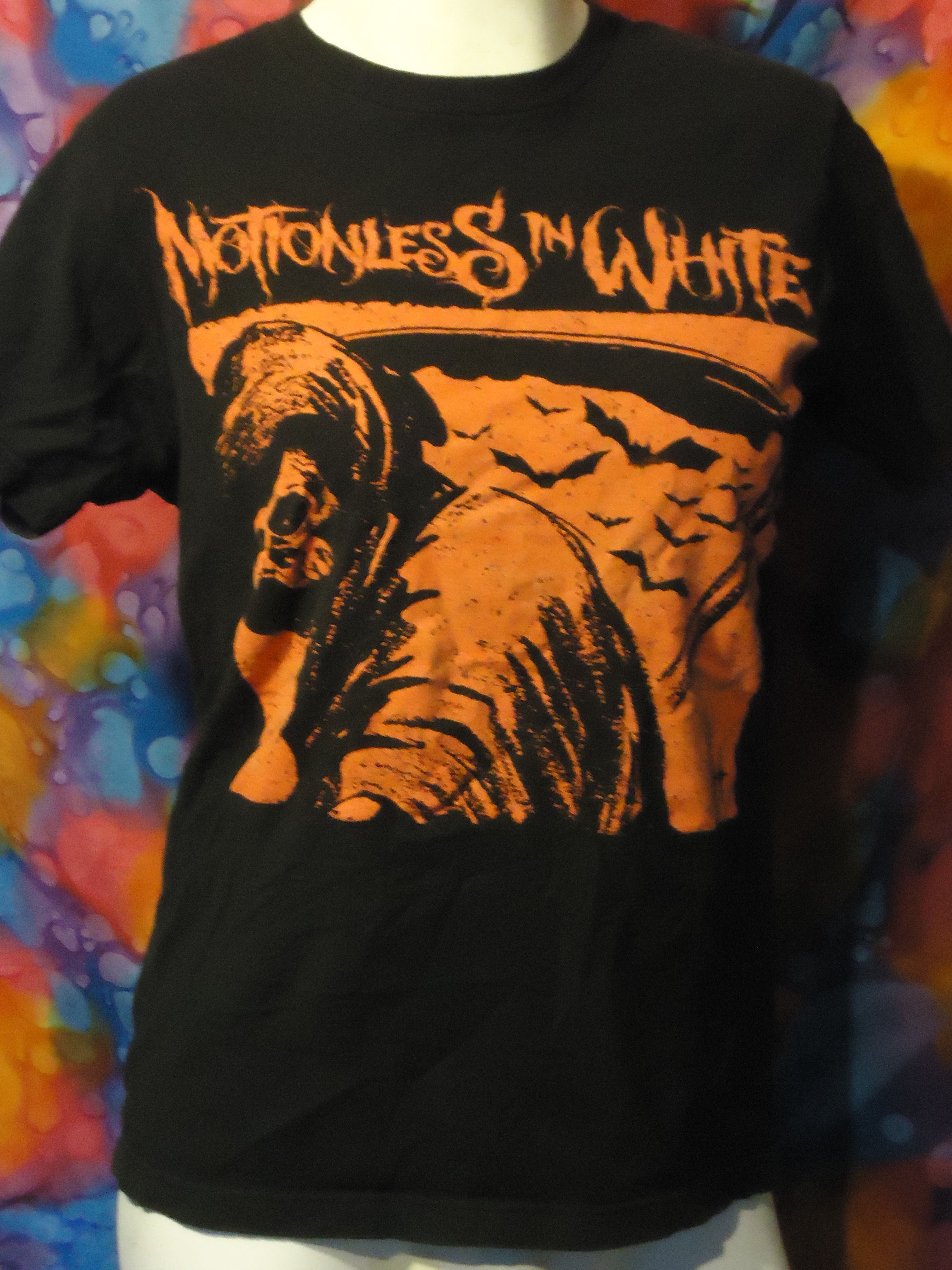 Motionless In White Vintage T Shirt Small Black Vintage Tshirts White Vintage Motionless In White