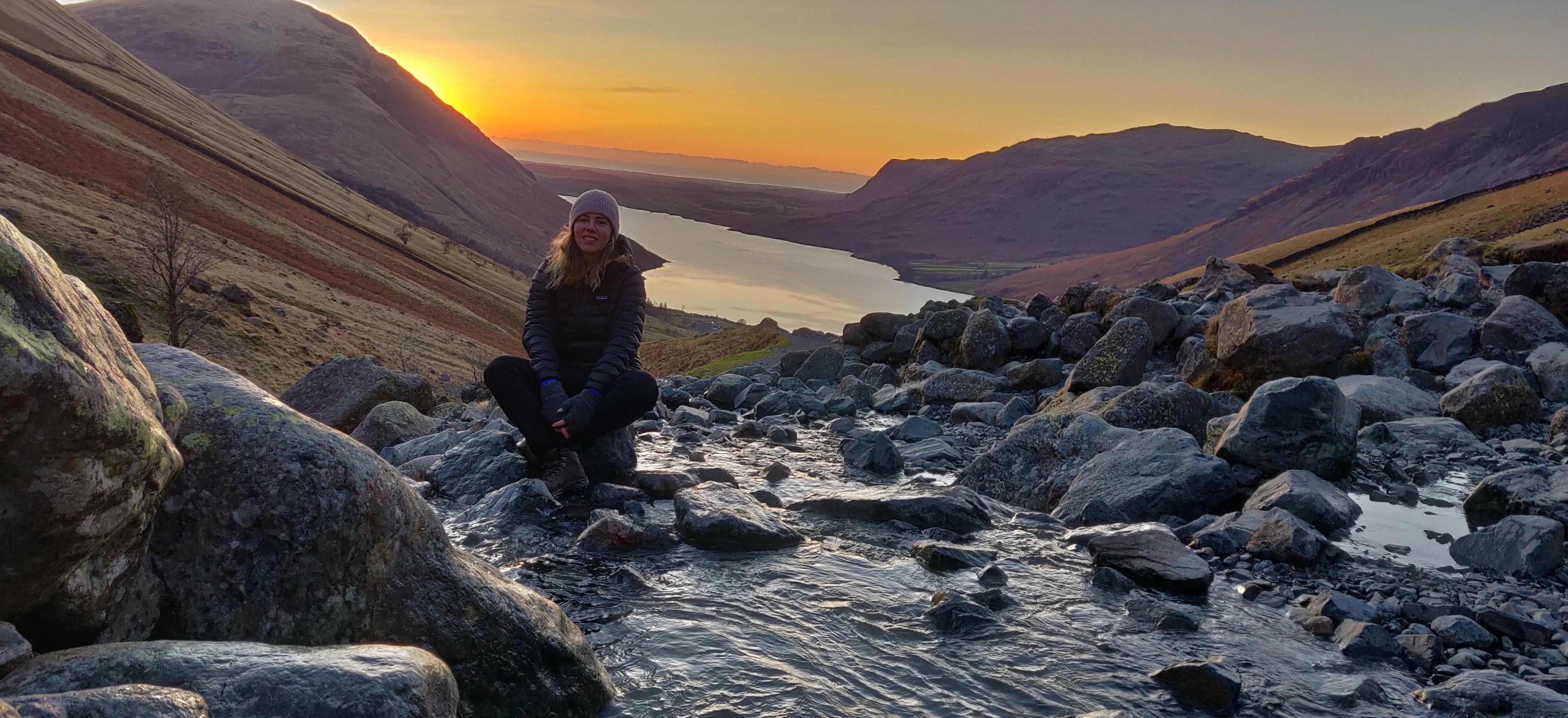 Winter walks. Scafell Pyke Lake District England. #hiking ...