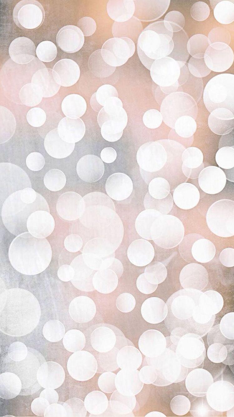 Golden Bokeh Light Circles Iphone 6 Wallpaper Iphone 5s