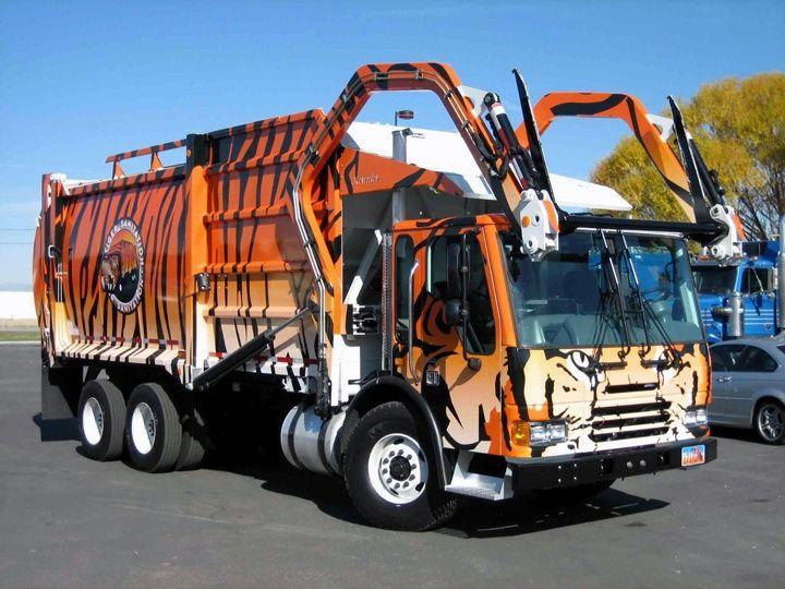 Vintage Sanitation Trucks On Pinterest Garbage Truck Trucks And