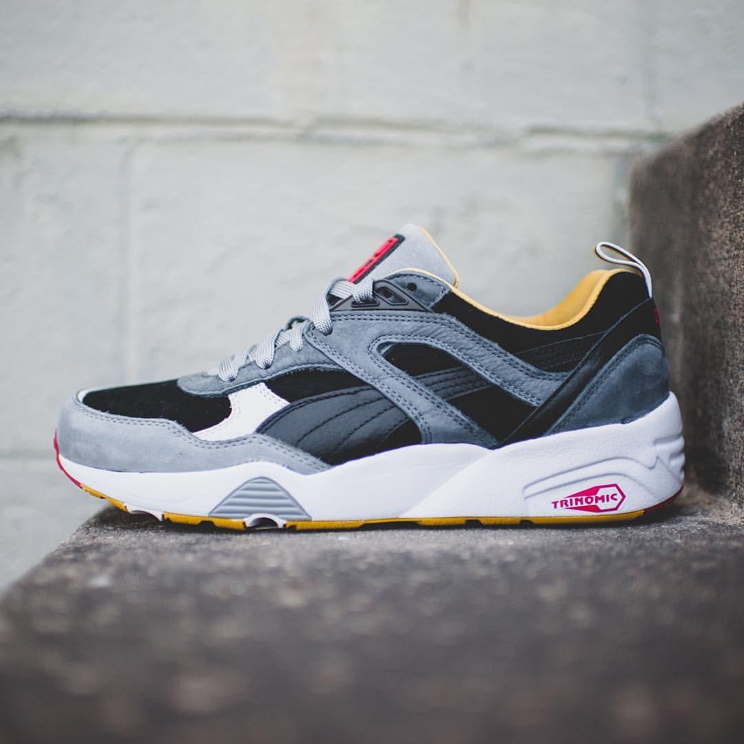 bau x puma r698 mens sneakers